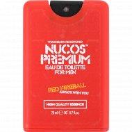 Туалетная вода для мужчин «Nucos» Red Fireball, 20 мл