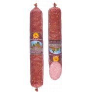 Колбаса сырокопченая «Пражская» салями первого сорта, 1 кг., фасовка 0.25-0.35 кг