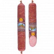 Колбаса сырокопченая «Пражская» салями первого сорта, 1 кг., фасовка 0.32-0.52 кг