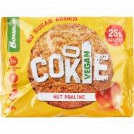 Печенье неглазированное «Bombbar» ореховое пралине, 40 г