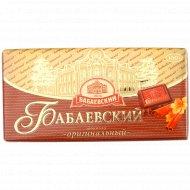 Шоколад «Бабаевский» оригинальный, 100 г.
