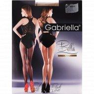Колготки женские «Gabriella» Bella, 20 den, размер 3, бежево-черный