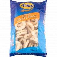 Луковые колечки «Aviko» панированные, обжаренные, замороженные, 1 кг.