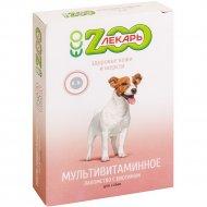 Лакомство мультивитаминное «Эко ZооЛекарь» для собак, 90 таблеток.