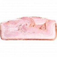 Продукт из свинины копчено-вареный «Бекон Тоскани» 1 кг, фасовка 0.45-0.5 кг