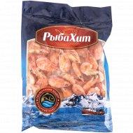 Креветки северные «РыбаХит», варено-мороженые с глазурью, 1 кг., фасовка 0.35-0.55 кг