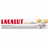 Зубная паста «Lacalut» Multi-effect plus, 75 мл