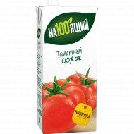 Сок томатный «На100ящий» с мякотью, солью, 0,95 л.