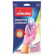 Перчатки для деликатных работ «Vileda» размер S.
