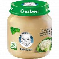 Пюре овощное «Gerber» цветная капуста, 130 г