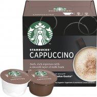 Кофе жареный молотый «Starbucks Cappucсino» в капсулах, 120 г