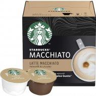 Кофе жареный молотый «Starbucks Latte Macchiato» в капсулах, 129 г