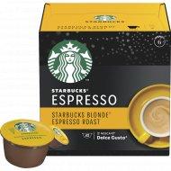 Кофе жареный молотый «Starbucks» Espresso Roast, в капсулах, 66 г