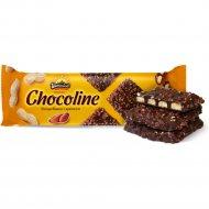 Печенье «Шоколайн» глазированное с арахисом, 200 г.