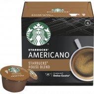Кофе жареный молотый «Starbucks Americano» в капсулах, 102 г