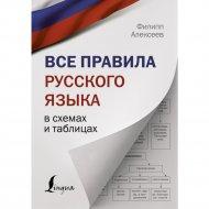 Книга «Все правила русского языка в схемах и таблицах».