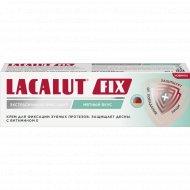 Крем для фиксации зубных протезов «Lacalut FIX» с мятным вкусом, 40 г