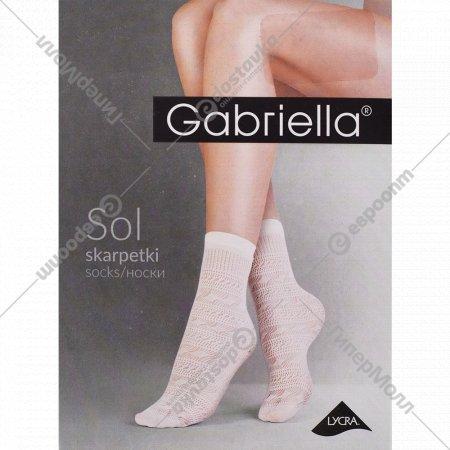 Носки женские «Sol» 20 den, размер 23-27, белый