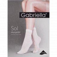 Носки женские «Sol» 20 den, размер 23-27, серый
