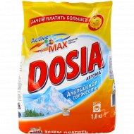Порошок стиральный «ДОСЯ» автомат, альпийская свежесть 1.8 кг.