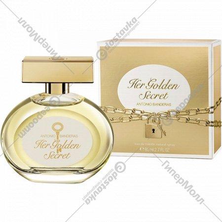 Туалетная вода Antonio Banderas Her Golden Secret 80мл