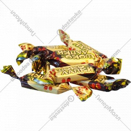 Конфеты «Шоко-лапки» 1 кг., фасовка 0.4-0.5 кг