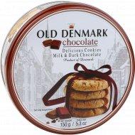 Печенье с молочным и горьким шоколадом «Wonderful Copenhagen» 150 г.