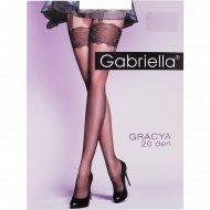 Колготки женские «Gabriella» Gracya, 20 den, размер 4, перламутр