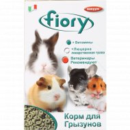 Корм для грызунов «Fiory» травяные колечки, 400 г.