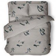Комплект постельного белья «Samsara» Иероглифы, полуторный, 150-2