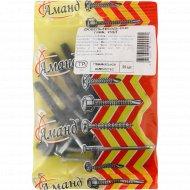 Дюбель-гвоздь «Аманд» 6х40 гриб, 25 шт.