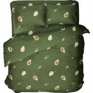 Комплект постельного белья «Samsara» Завитки Pink, полуторный, 150-10