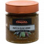 Паштет «Cinquina» из зеленых оливок, 200 г.