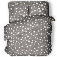 Комплект постельного белья «Samsara» Grey Stars, полуторный, 150-15