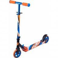 Самокат «Ridex» Flow, сине-оранжевый