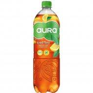 Чай холодный «Aura Iced Tea» чёрный с лимоном, 0.5 л