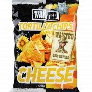 Начос «Wanted» со вкусом сыра, 450 г.