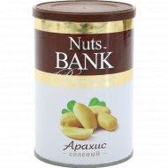 Арахис «Nuts Bank» соленый, 200 г.