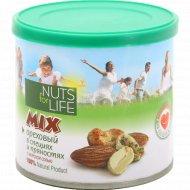 Смесь соленых орехов «Nuts For Life» 115 г.