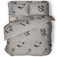 Комплект постельного белья «Samsara» Иероглифы, двуспальный, 200-2