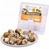Яйца перепилиные «Фермерские» 20 шт.
