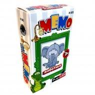Карточная игра «Мемо. Животные».
