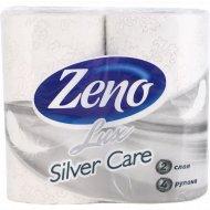 Бумага туалетная «Zeno Lux» Silver Care 4 шт.