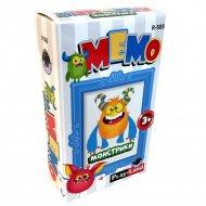 Карточная игра «Мемо. Монстрики».