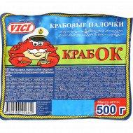 Крабовые палочки «Крабок» 500 г.