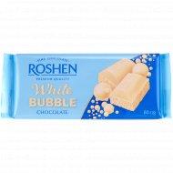 Шоколад пористый «Roshen» белый, 80 г.