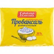 Майонезный соус «Советская классика» провансаль 25%, 180 мл.