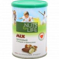 Смесь соленых орехов «Nuts For Life» в специях и пряностях, 200 г.