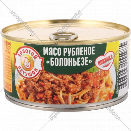 Консервы паштетные «Болоньезе» из рубленого мяса, 325 г.