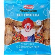 Печенье кукурузное «Рототайка» с чиа на сорбите, без глютена, 200 г